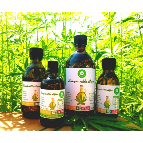 CannaMama unrefined, cold-pressed hemp seed oil 500 ml