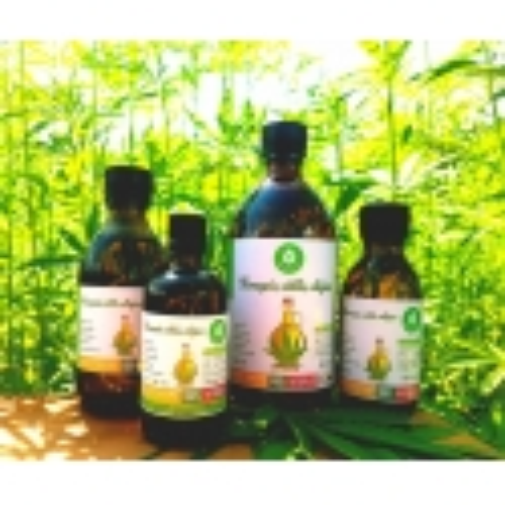 CannaMama óleo de semente de cânhamo não refinado e prensado a frio 150 ml