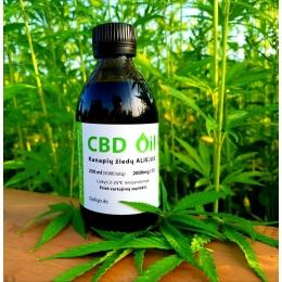 CannaMama pełny olej konopny (olej CBD) 250 ml (1000 mg)