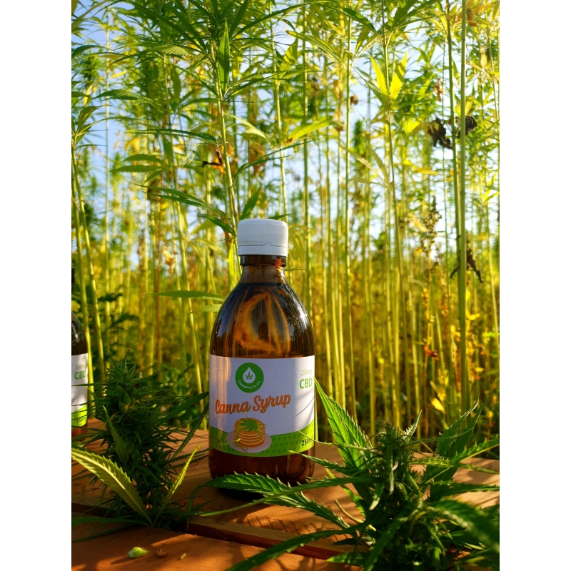 CannaMama CBD Jarabe de Cannabis 250ml