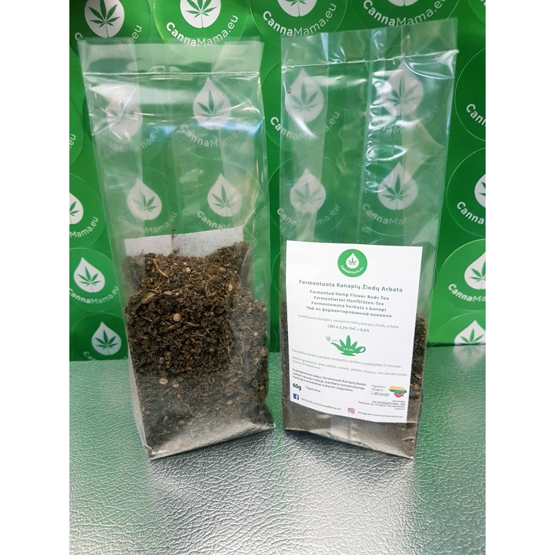 CannaMama Fermented Hemp Tea 60g