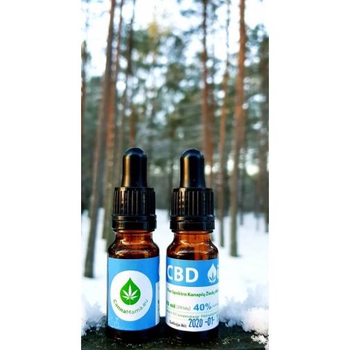 CannaMama Aceite de Cáñamo de Espectro Completo ( CBD Aceite) 10 ml 40% (4000mg)