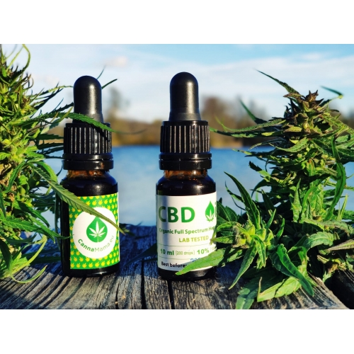 CBD Oil 10 ml (5% 10% 15% 20% 30% 40%)