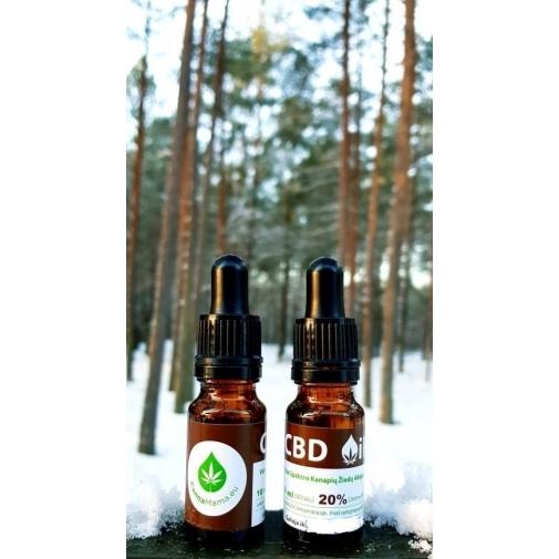 CannaMama 10ml Olio di Canapa 20% cbd oil Estratto Full Spectrum NATURALE 100%