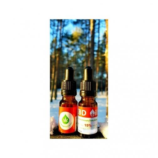 CannaMama 10ml Olio di Canapa 15% cbd oil Estratto Full Spectrum NATURALE 100% Huile