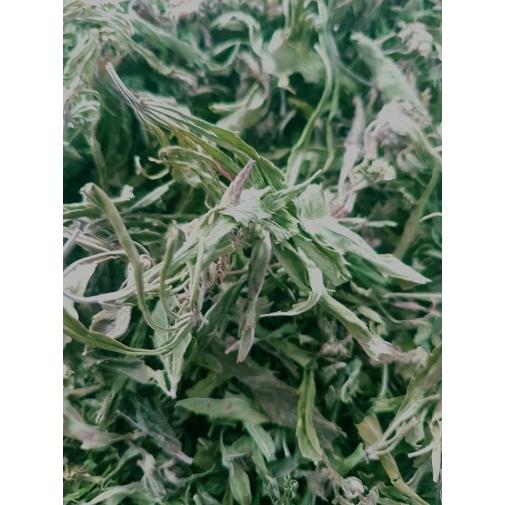 CannaMama selecionou folhas de cânhamo orgânico 50 g