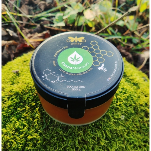 CBD Honey 300g (1500mg CBD)