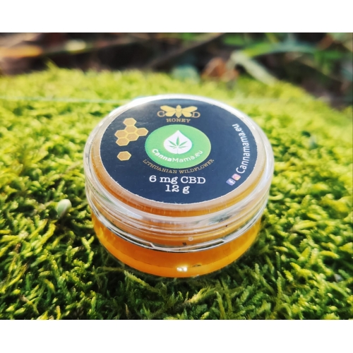 CBD Honey 12g (6mg CBD)
