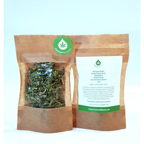 CannaMama Organic Hemp Flower Buds 5 g / 0.17 oz
