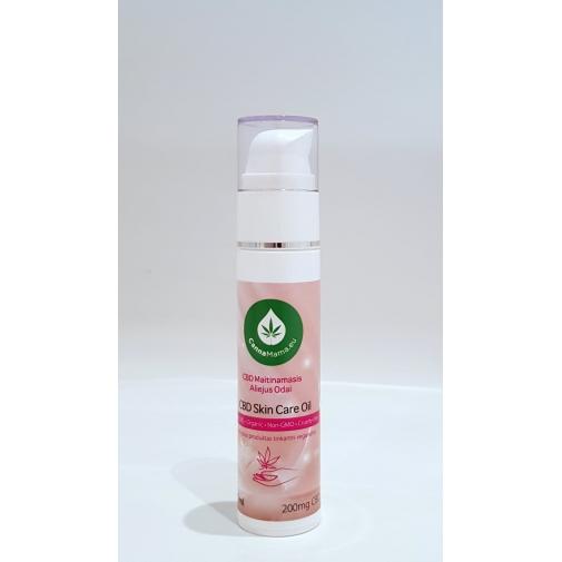 CBD ādas kopšanas eļļa 50ml 200 mg CBD