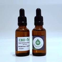 CannaMama pełny olej konopny (olej CBD) 30 ml (120 mg)
