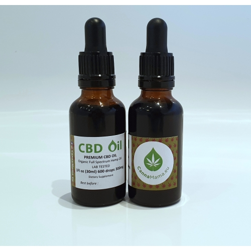 CannaMama BIO Vollspektrum Hanföl (CBD Öl) 30ml 300mg