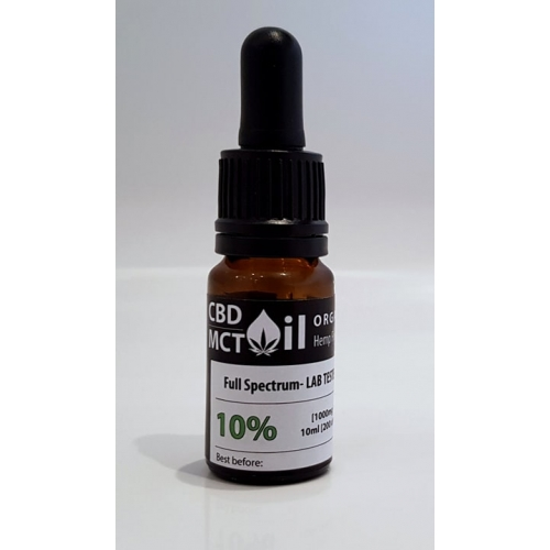 CannaMama Raw CBD Oil 10 ml 10% (1000mg)